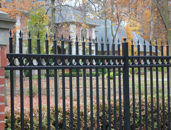 Aluminum Fence South Camden Iron Works