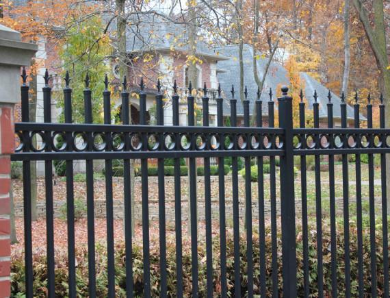 Aluminum Fence South Camden Iron Works