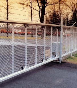 Heavy Duty Catilever Chain Link Gate