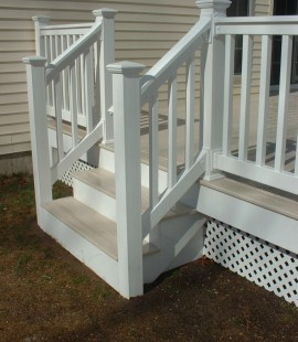 Vinyl Railing Avalon White
