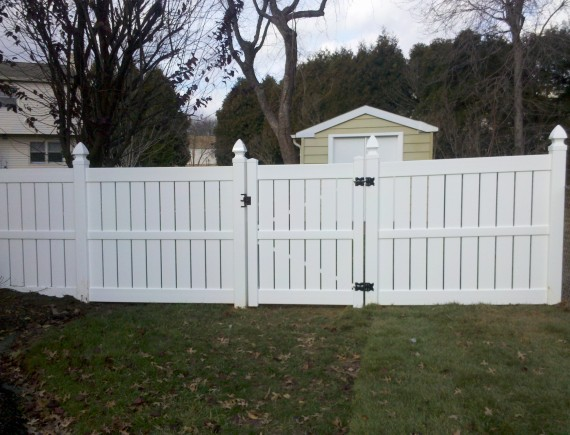 Vinyl Fence South Camden Iron Works
